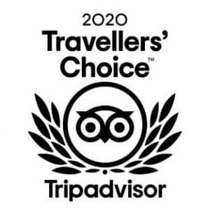 Tripadvisor Travellers Choice 2020 Certificate